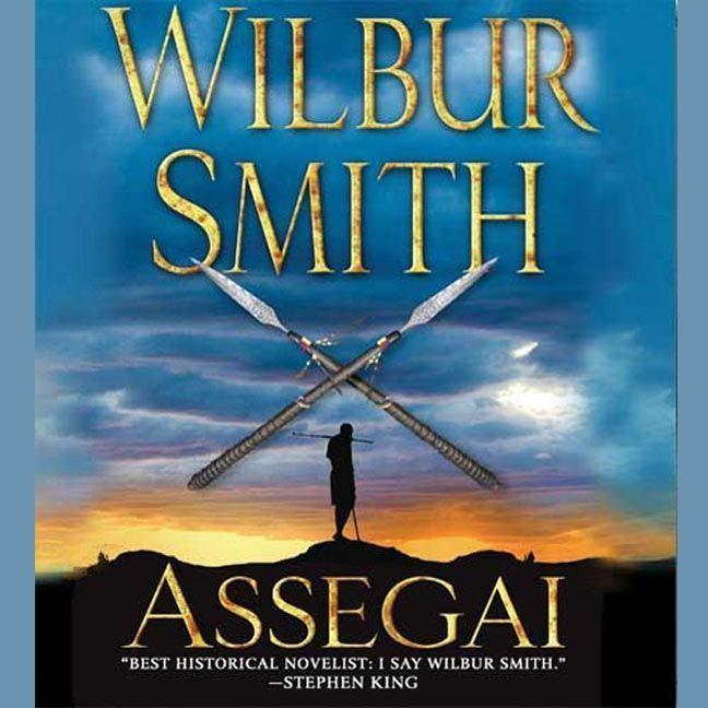 Printable Assegai Audiobook Cover Art
