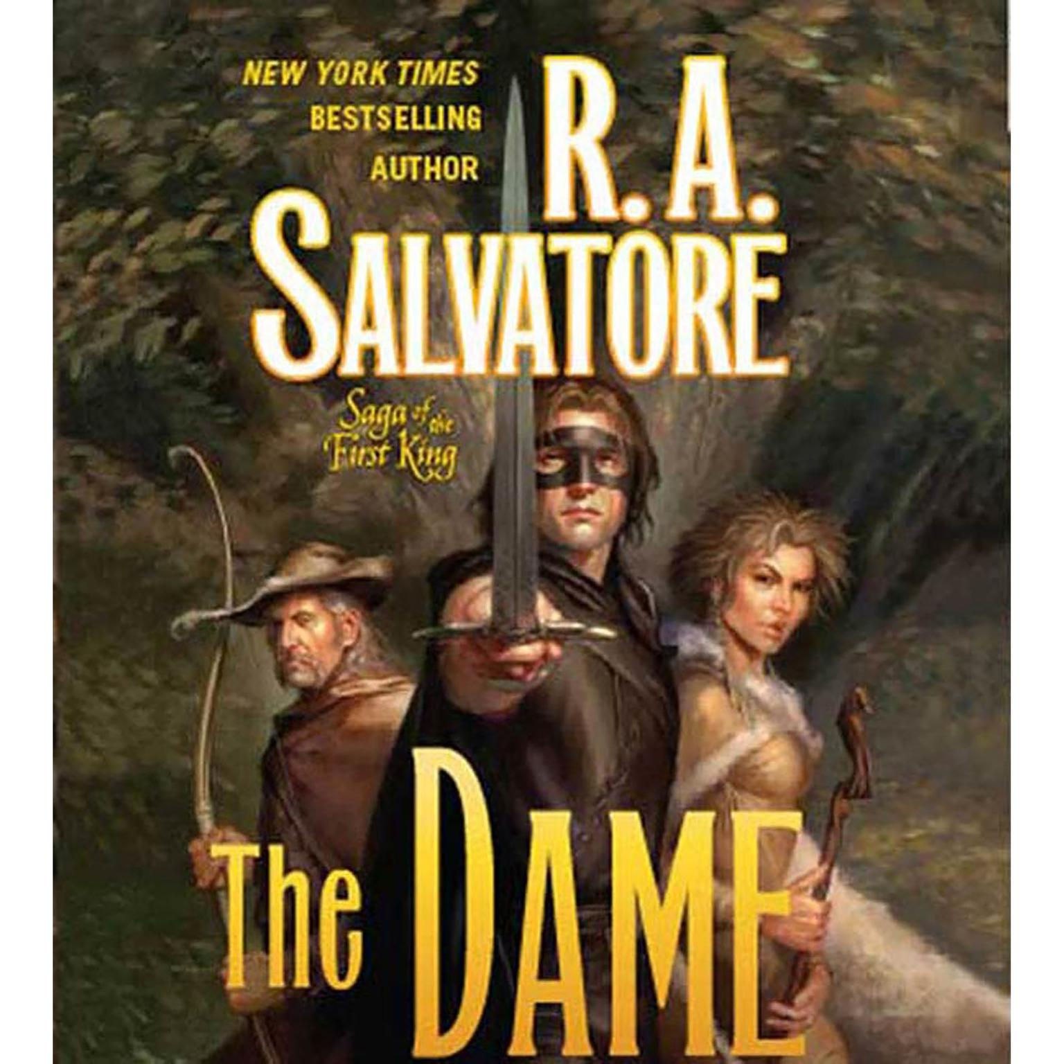 Printable The Dame Audiobook Cover Art
