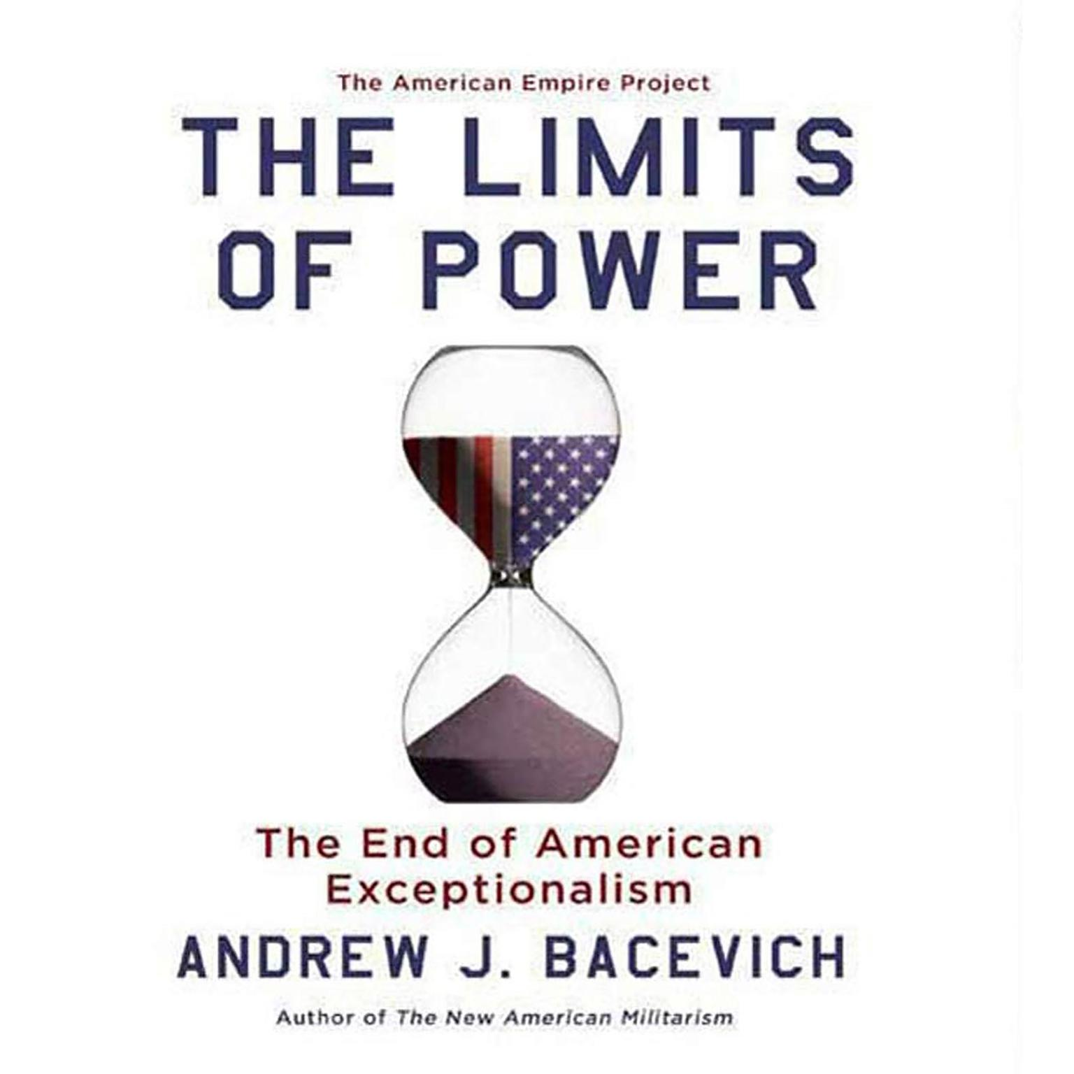 Printable The Limits of Power Audiobook Cover Art