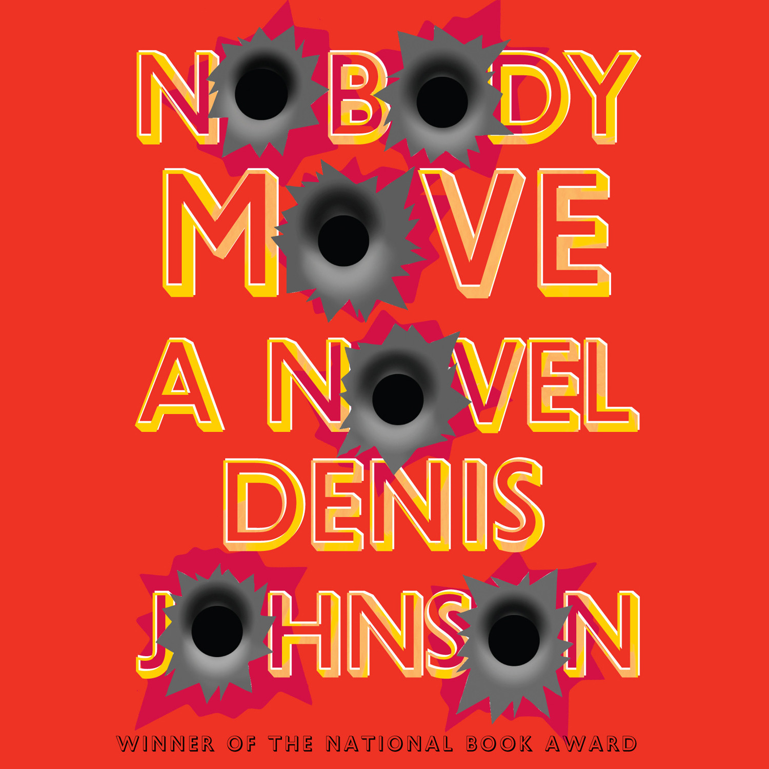 Printable Nobody Move: A Novel Audiobook Cover Art