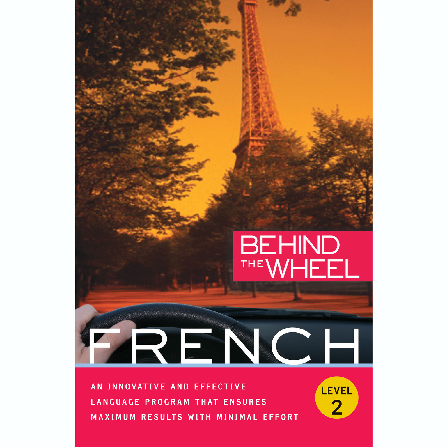 Printable Behind the Wheel - French 2 Audiobook Cover Art