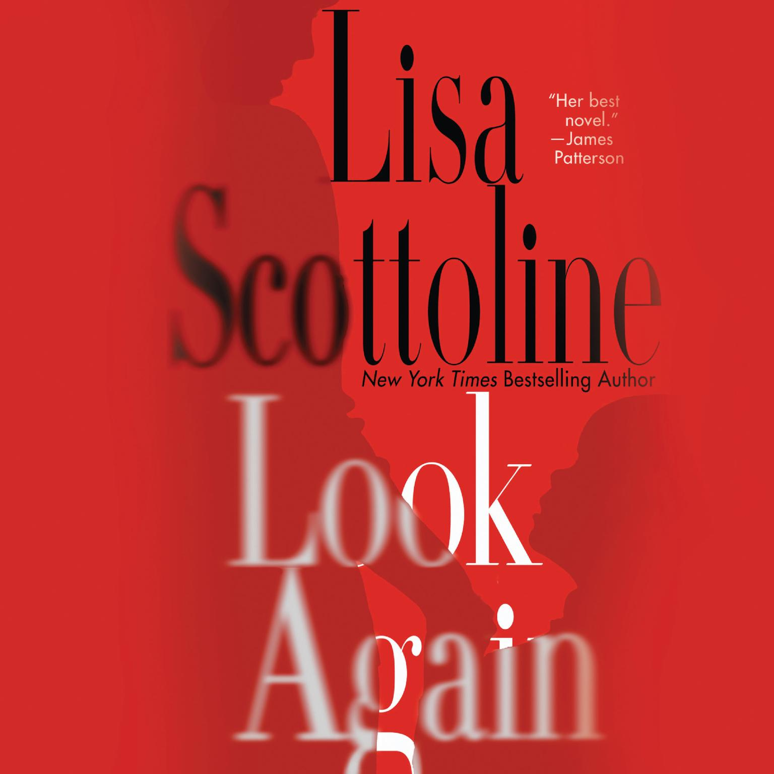 Printable Look Again: A Novel Audiobook Cover Art