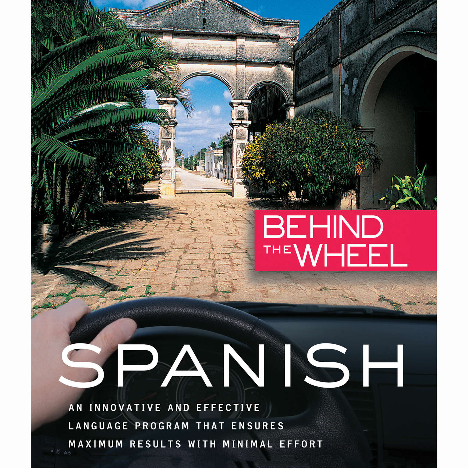 Printable Behind the Wheel - Spanish 1 Audiobook Cover Art
