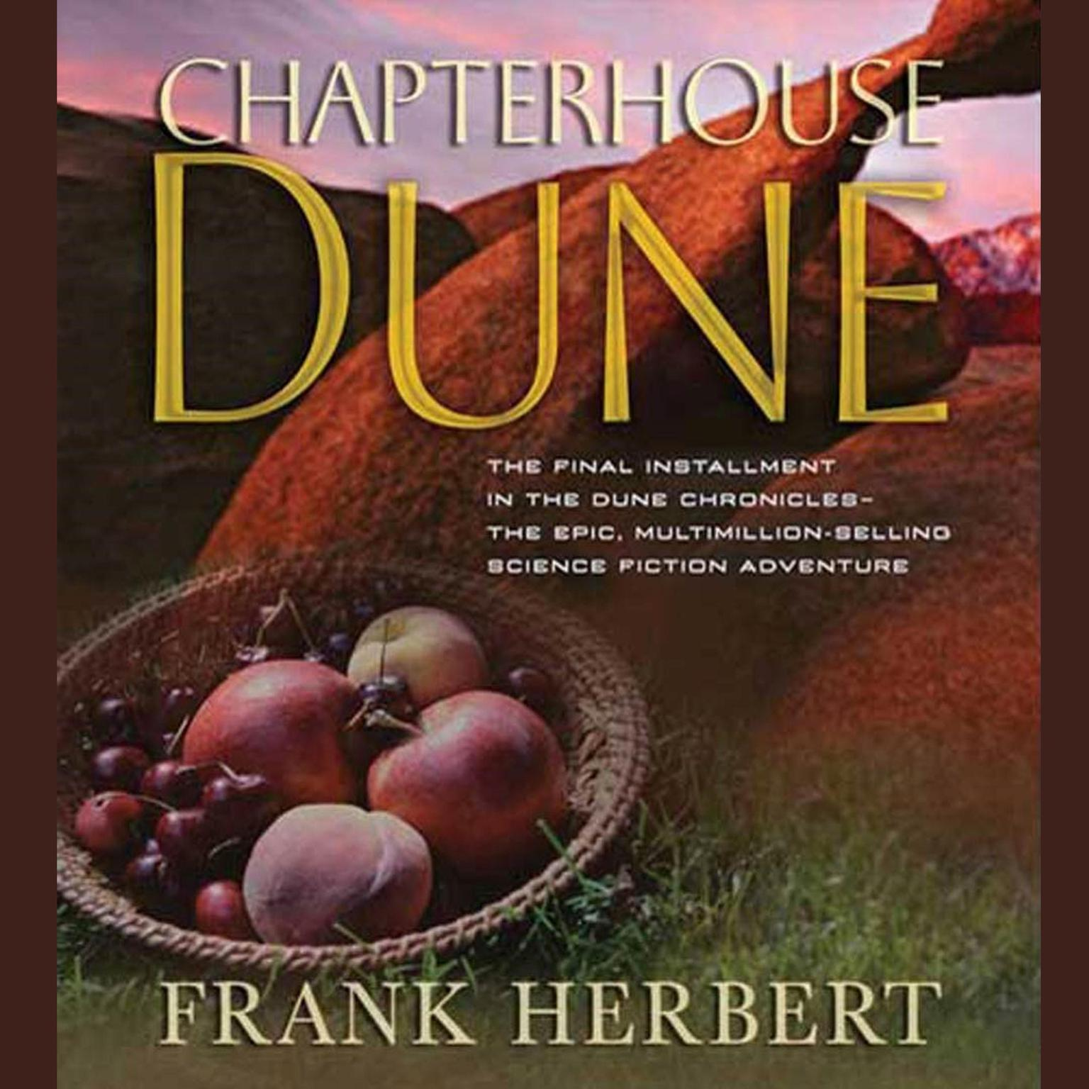 Printable Chapterhouse Dune Audiobook Cover Art