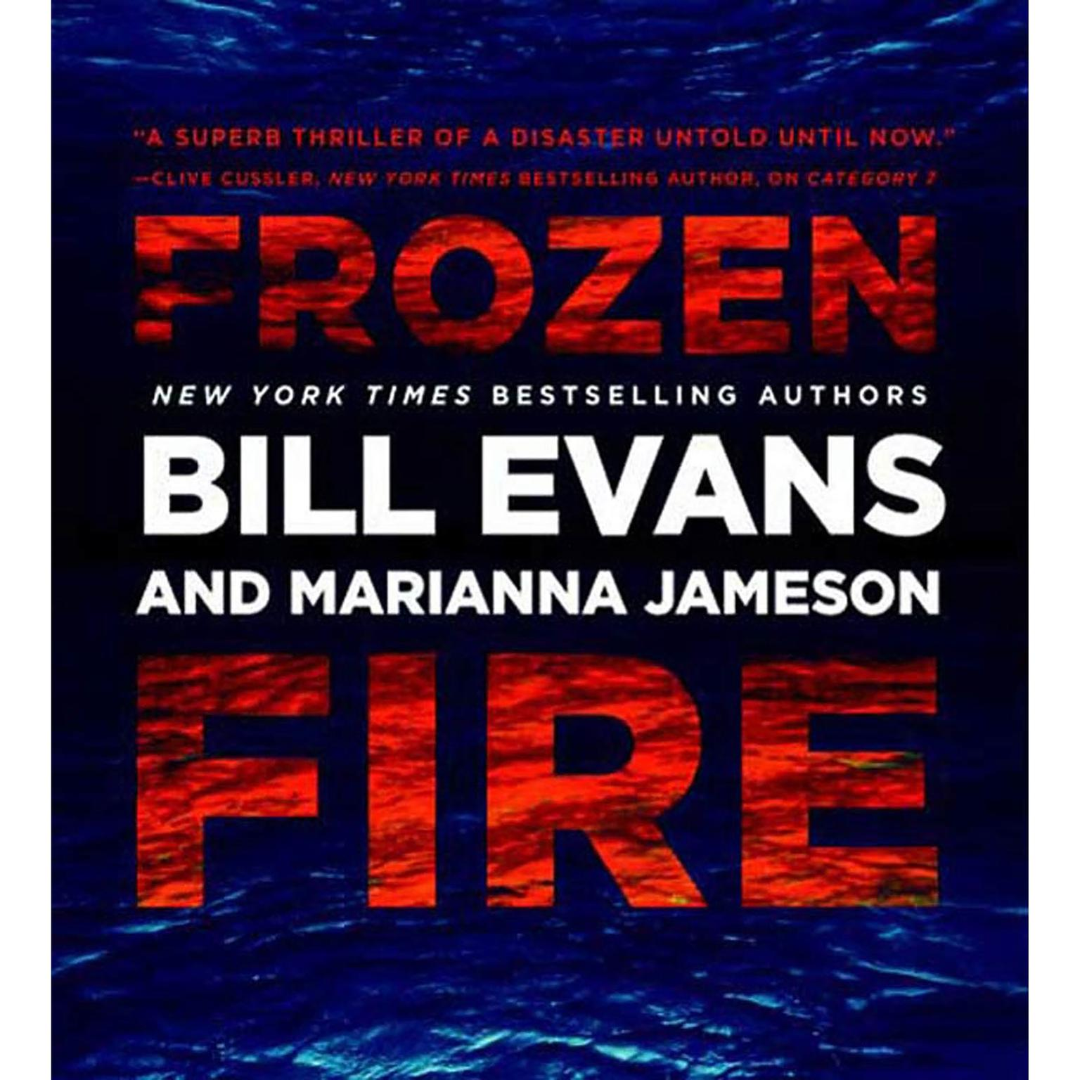 Printable Frozen Fire Audiobook Cover Art