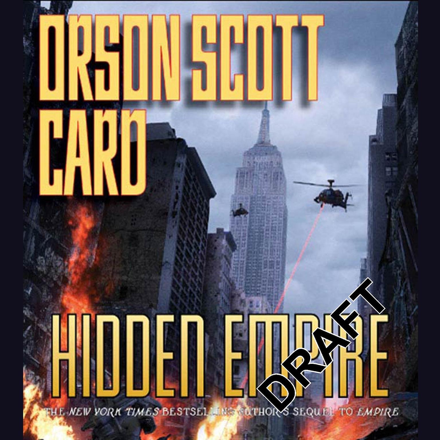 Printable Hidden Empire Audiobook Cover Art