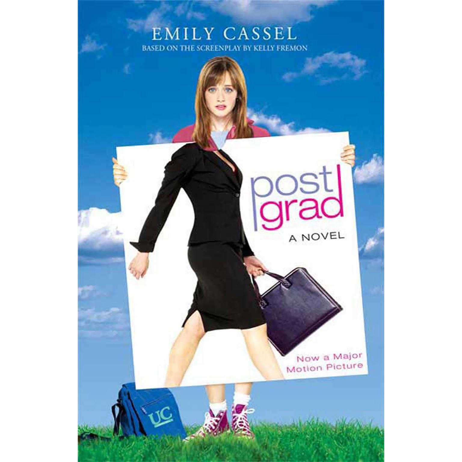 Printable Post Grad Audiobook Cover Art