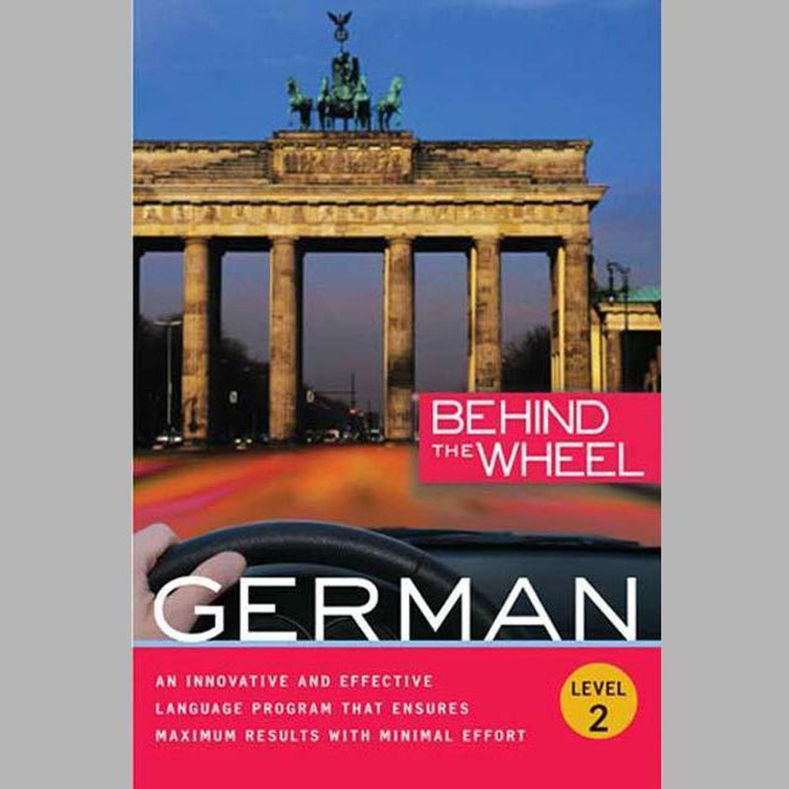 Printable Behind the Wheel - German 2 Audiobook Cover Art