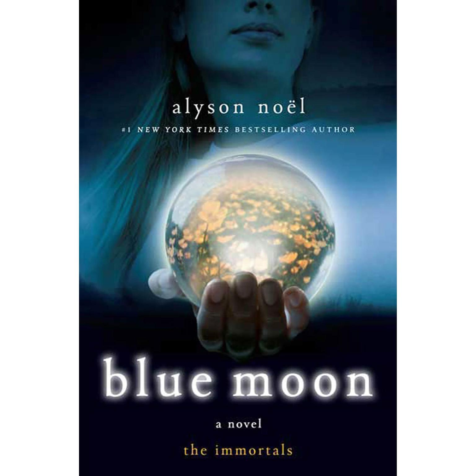 Printable Blue Moon: The Immortals Audiobook Cover Art