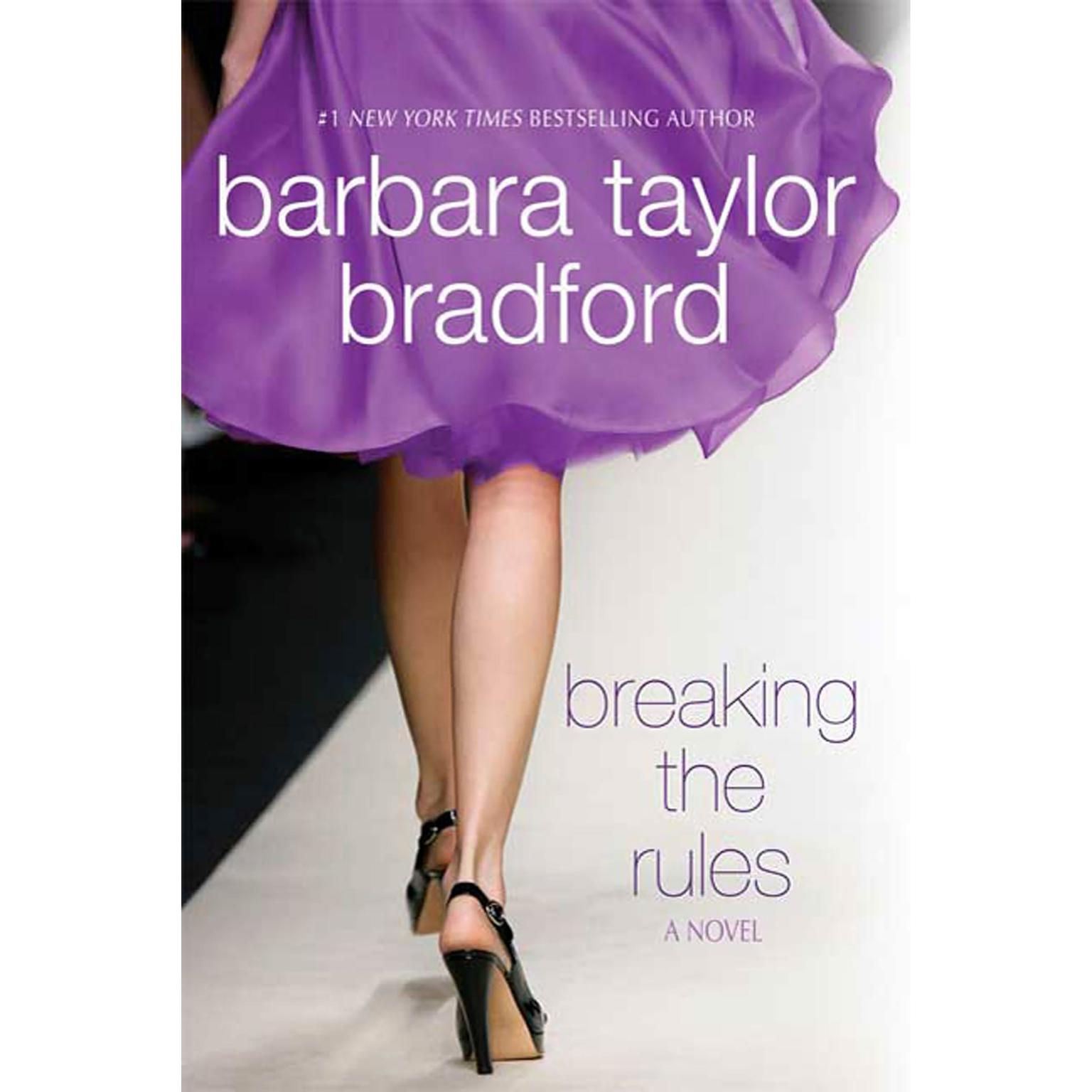 Printable Breaking the Rules Audiobook Cover Art
