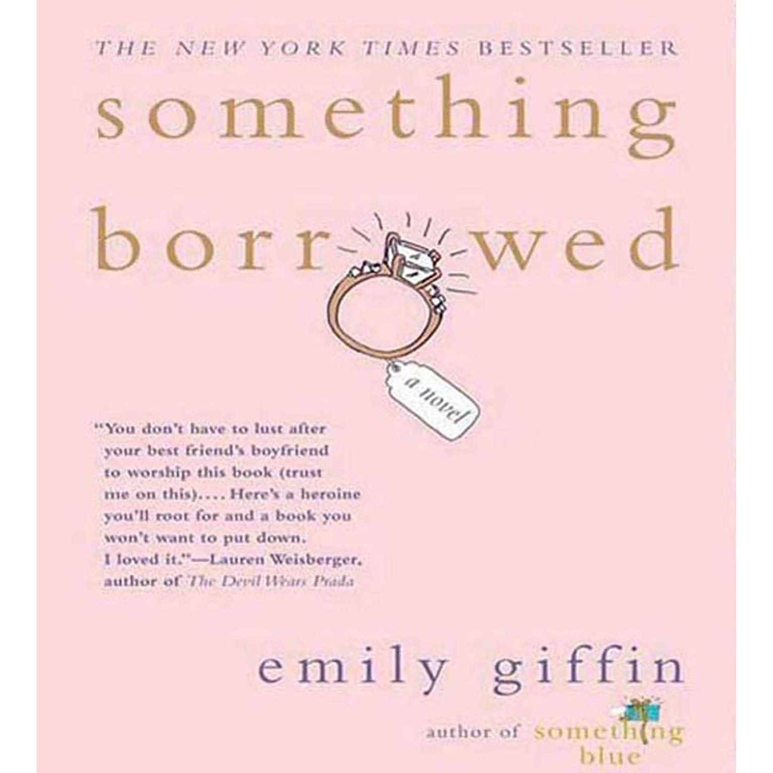 Printable Something Borrowed: A Novel Audiobook Cover Art