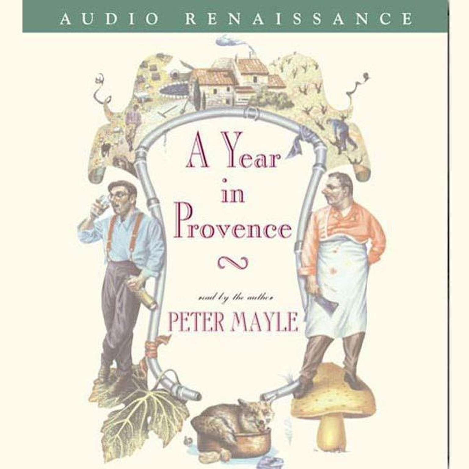 Printable A Year in Provence Audiobook Cover Art