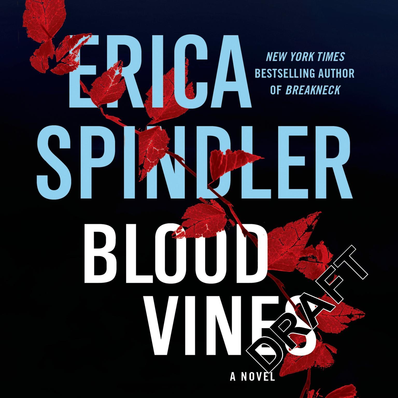 Printable Blood Vines Audiobook Cover Art