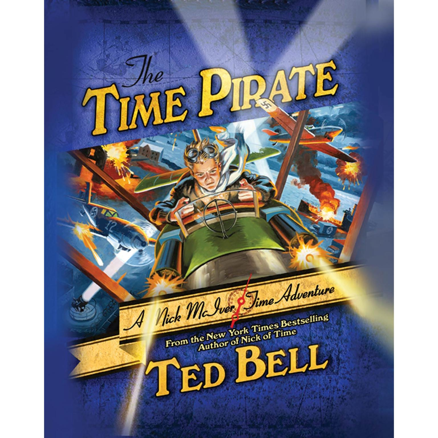 Printable The Time Pirate: A Nick McIver Time Adventure Audiobook Cover Art
