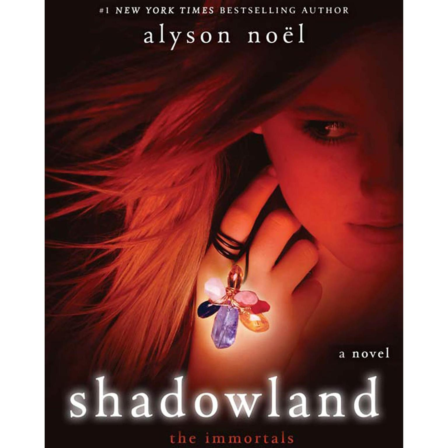 Printable Shadowland: The Immortals Audiobook Cover Art
