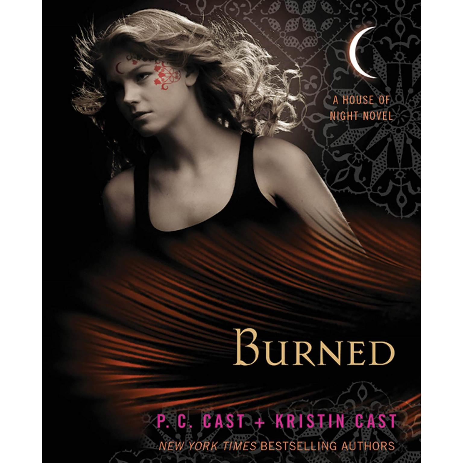 Printable Burned: A House of Night Novel Audiobook Cover Art