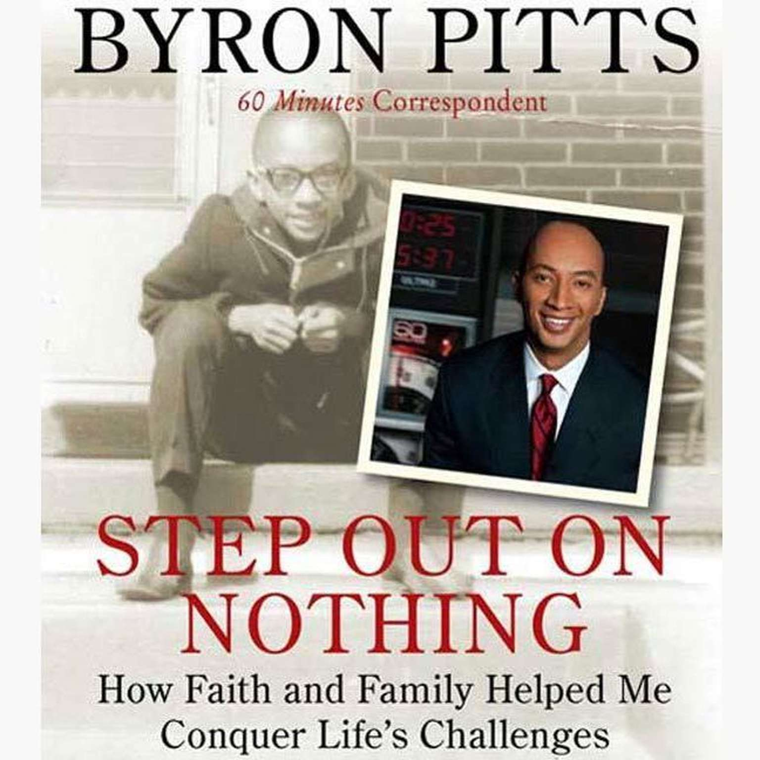 Printable Step Out on Nothing: How Faith and Family Helped Me Conquer Life's Challenges Audiobook Cover Art