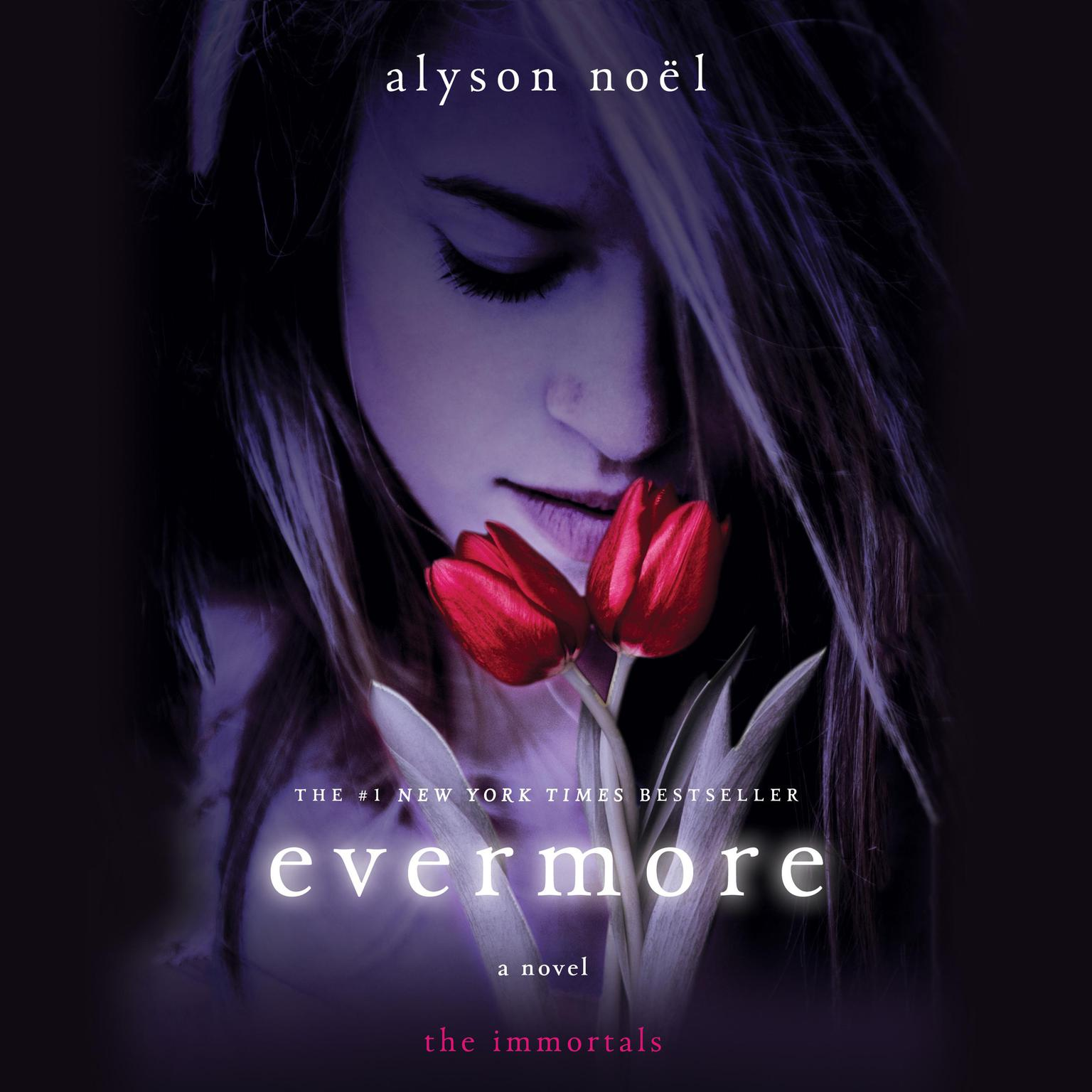 Printable Evermore: The Immortals Audiobook Cover Art