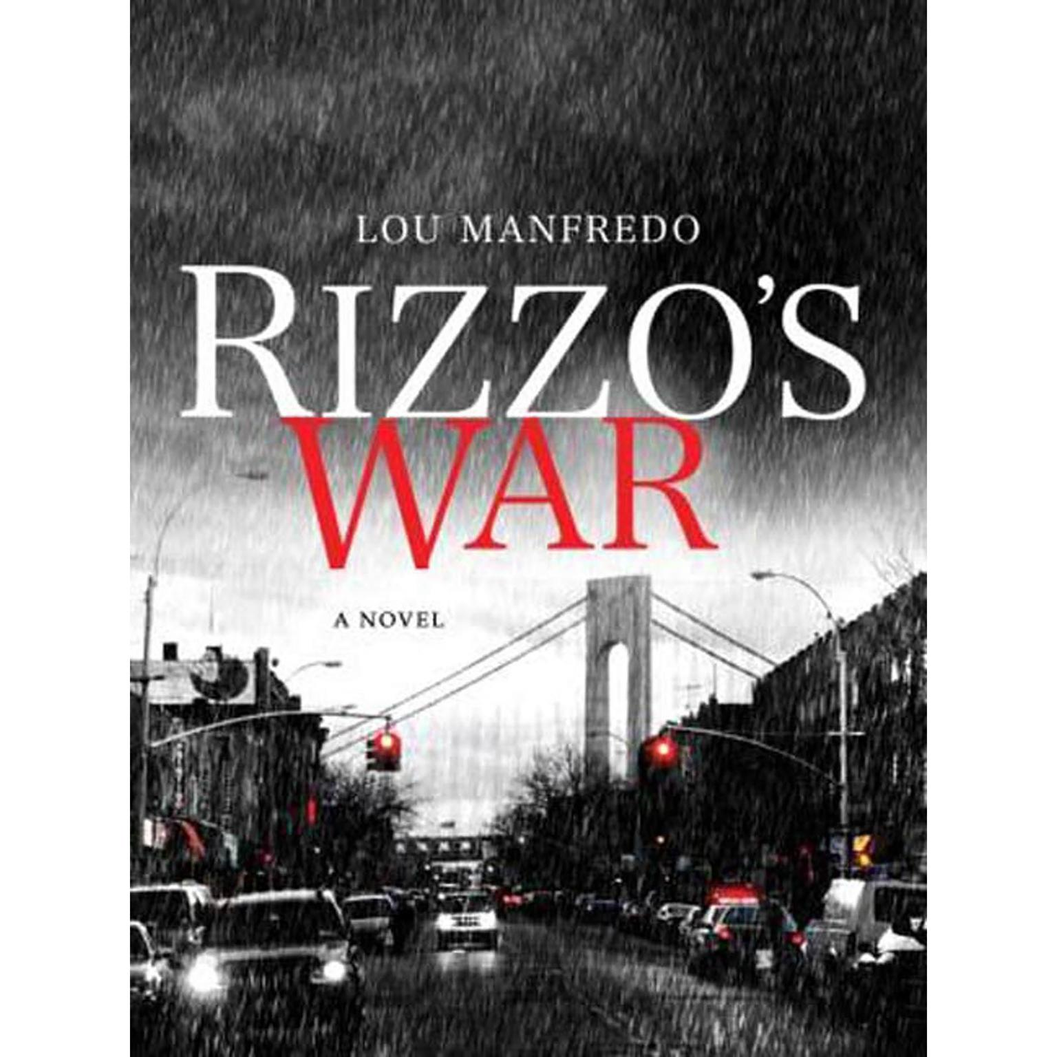 Printable Rizzo's War Audiobook Cover Art