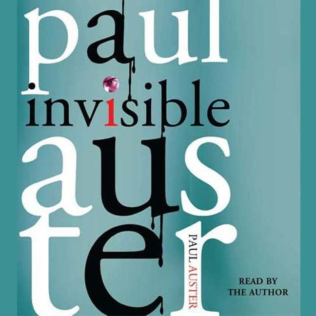 Printable Invisible: A Novel Audiobook Cover Art
