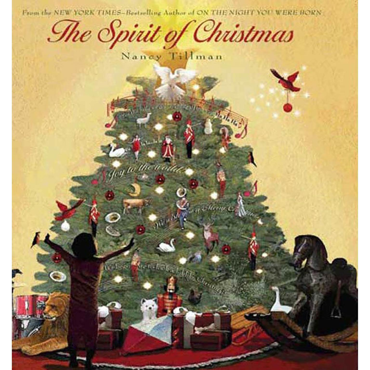 Printable The Spirit of Christmas Audiobook Cover Art