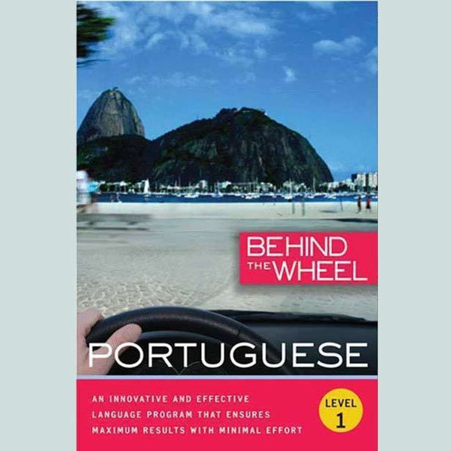 Printable Behind the Wheel - Portuguese 1 Audiobook Cover Art