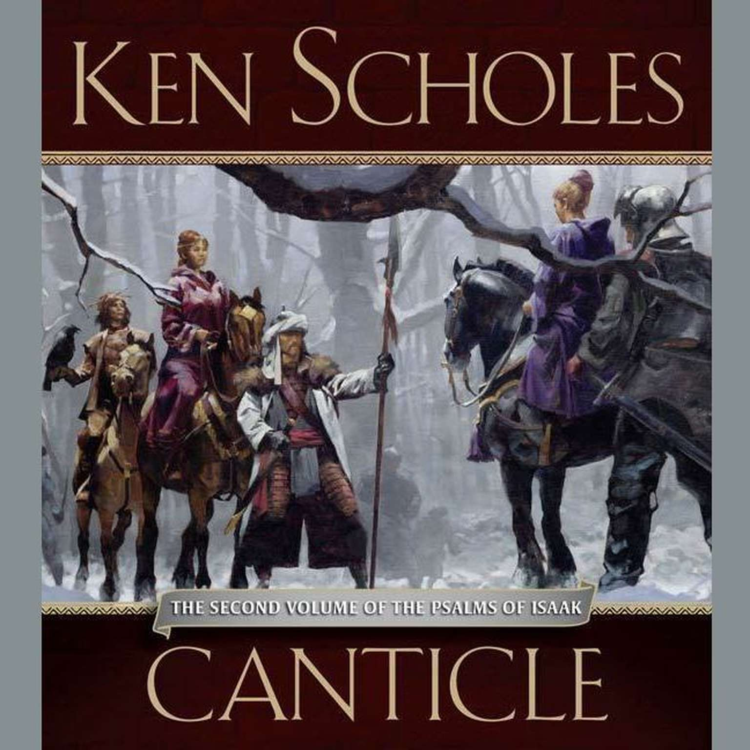 Printable Canticle: The Second Volume of The Palms of Isaac Audiobook Cover Art