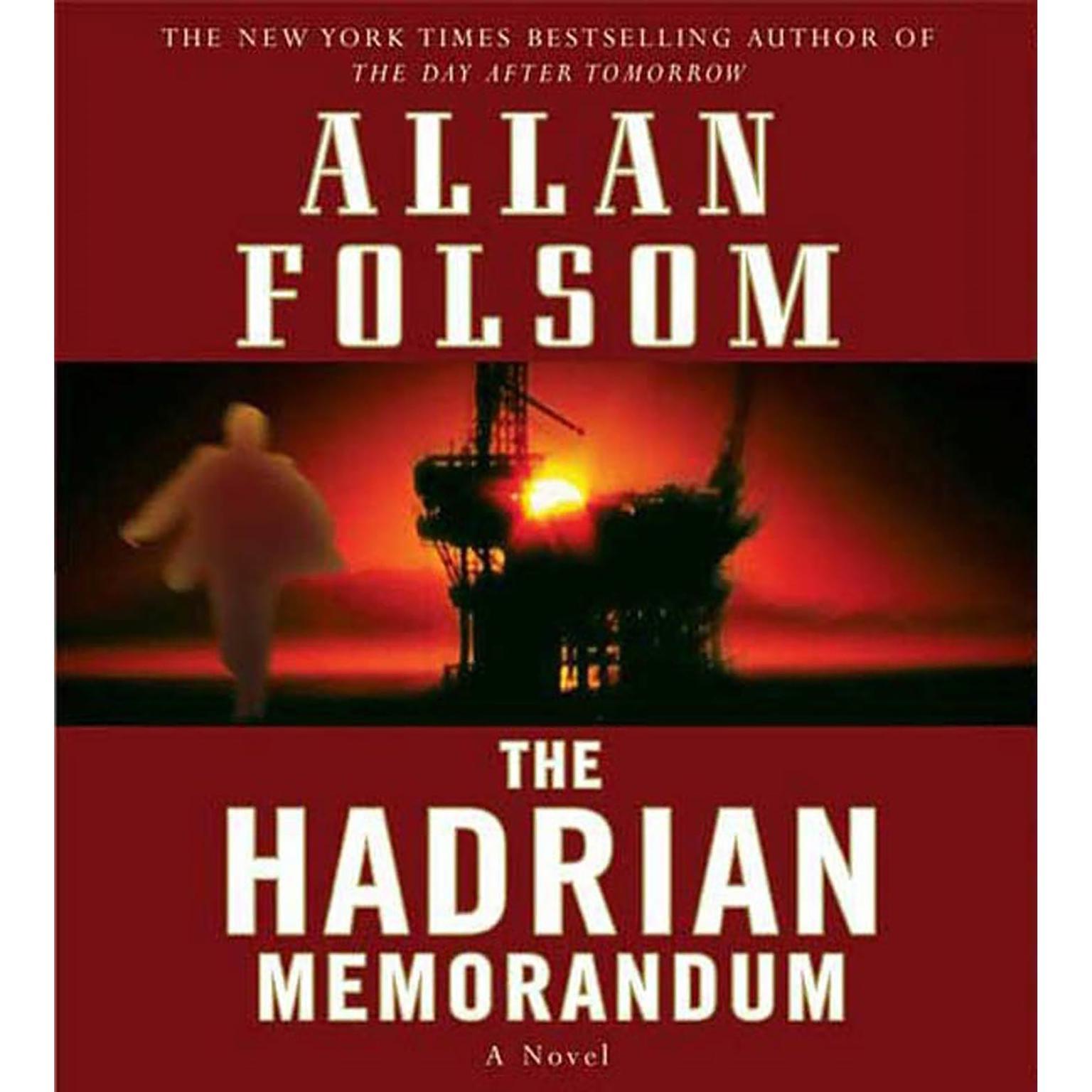 Printable The Hadrian Memorandum: A Novel Audiobook Cover Art