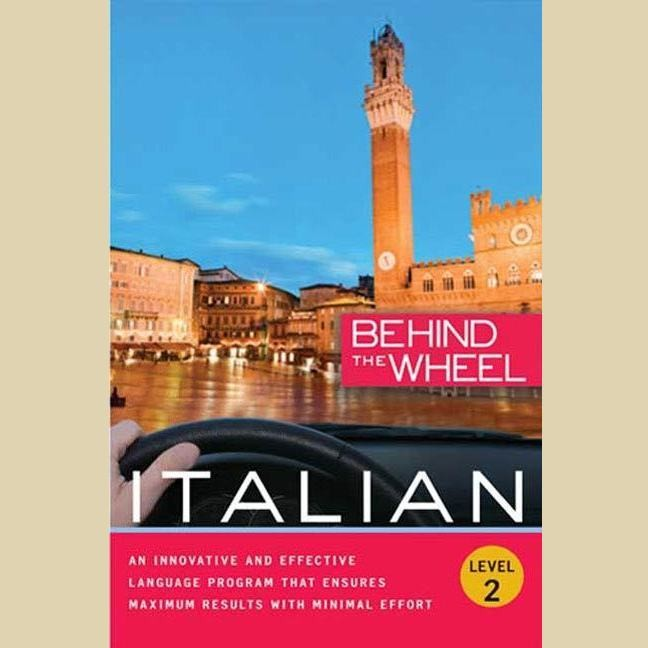 Printable Behind the Wheel - Italian 2 Audiobook Cover Art