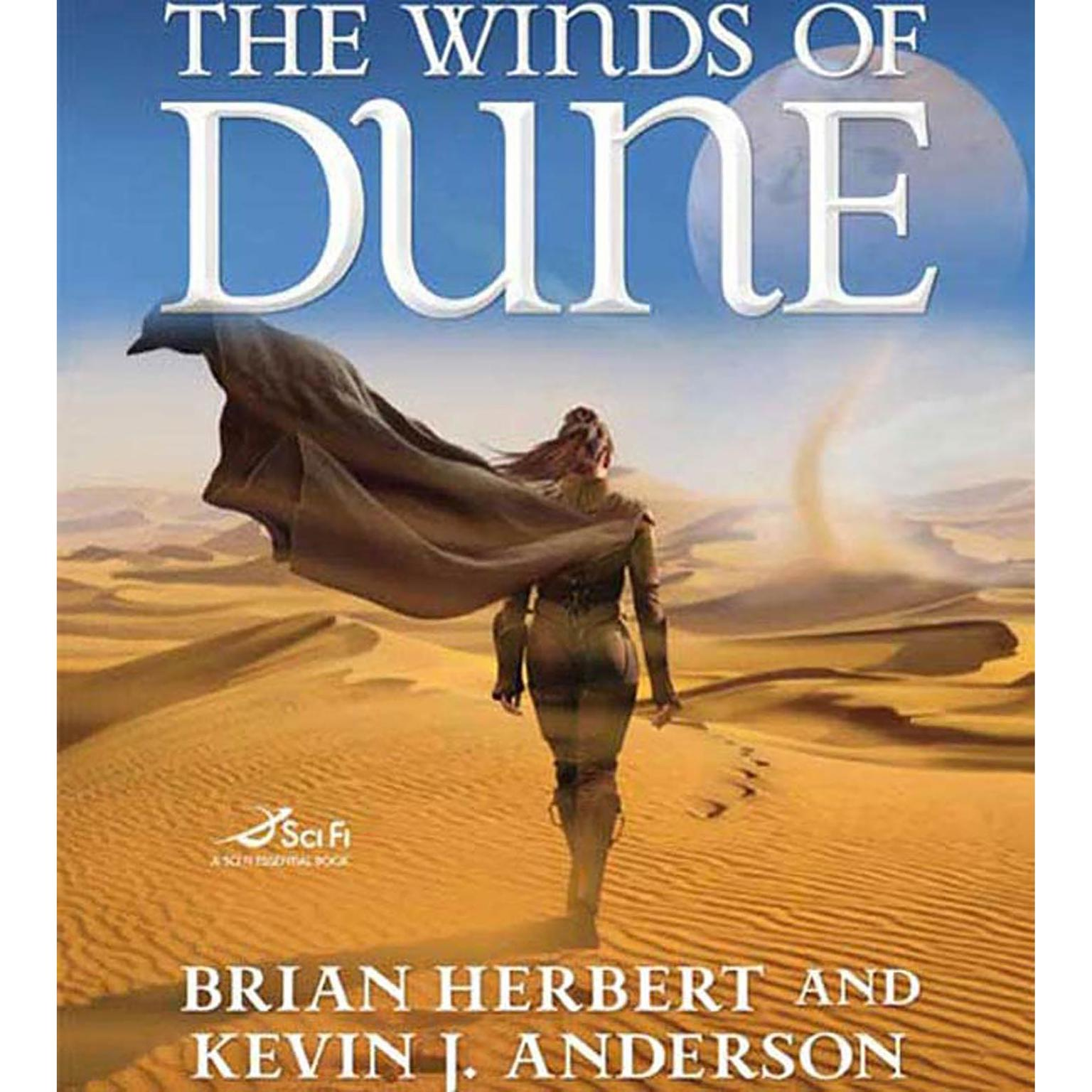 Printable The Winds of Dune Audiobook Cover Art