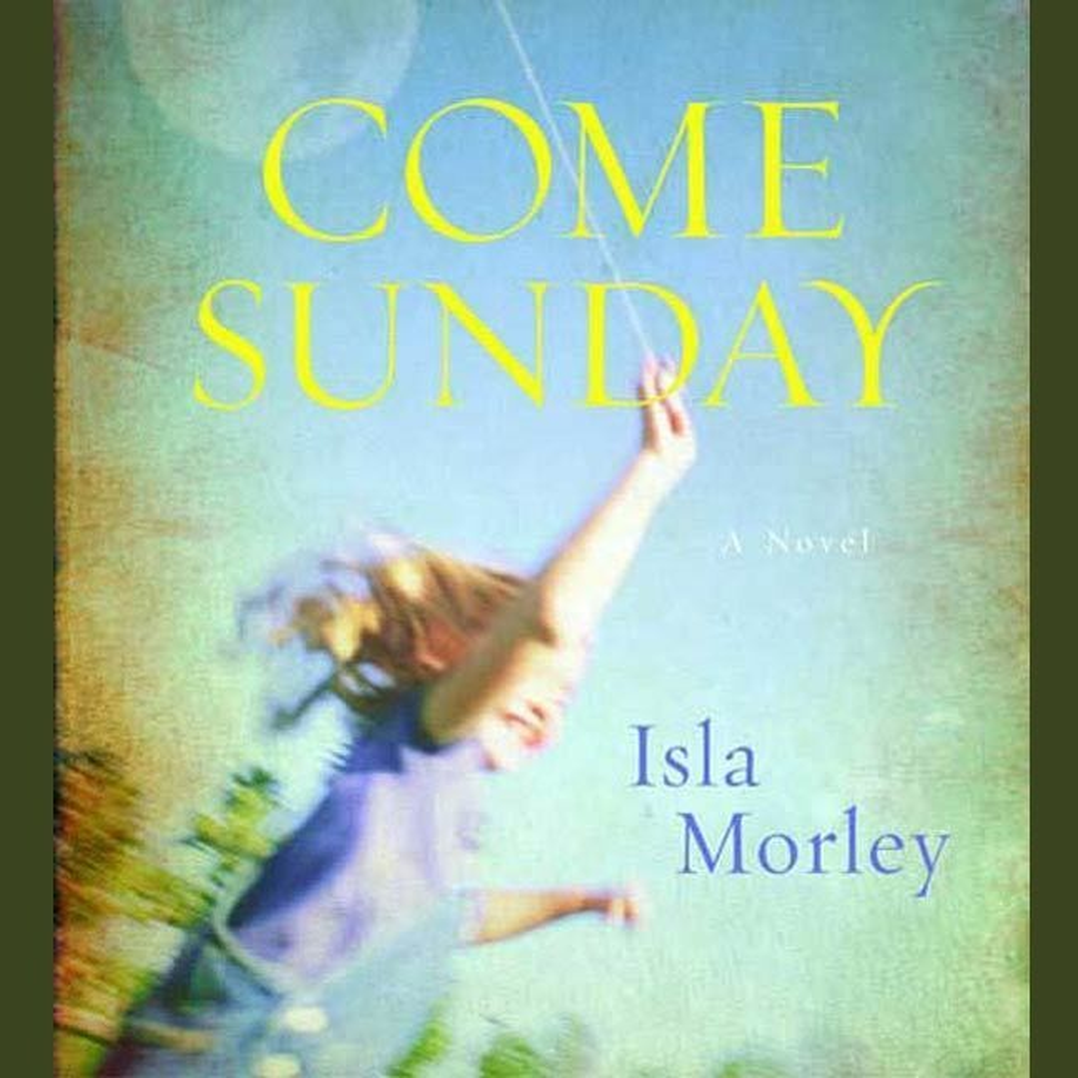 Printable Come Sunday: A Novel Audiobook Cover Art