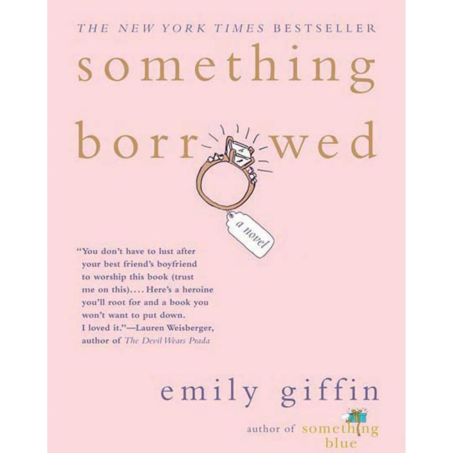 Printable Something Borrowed Audiobook Cover Art