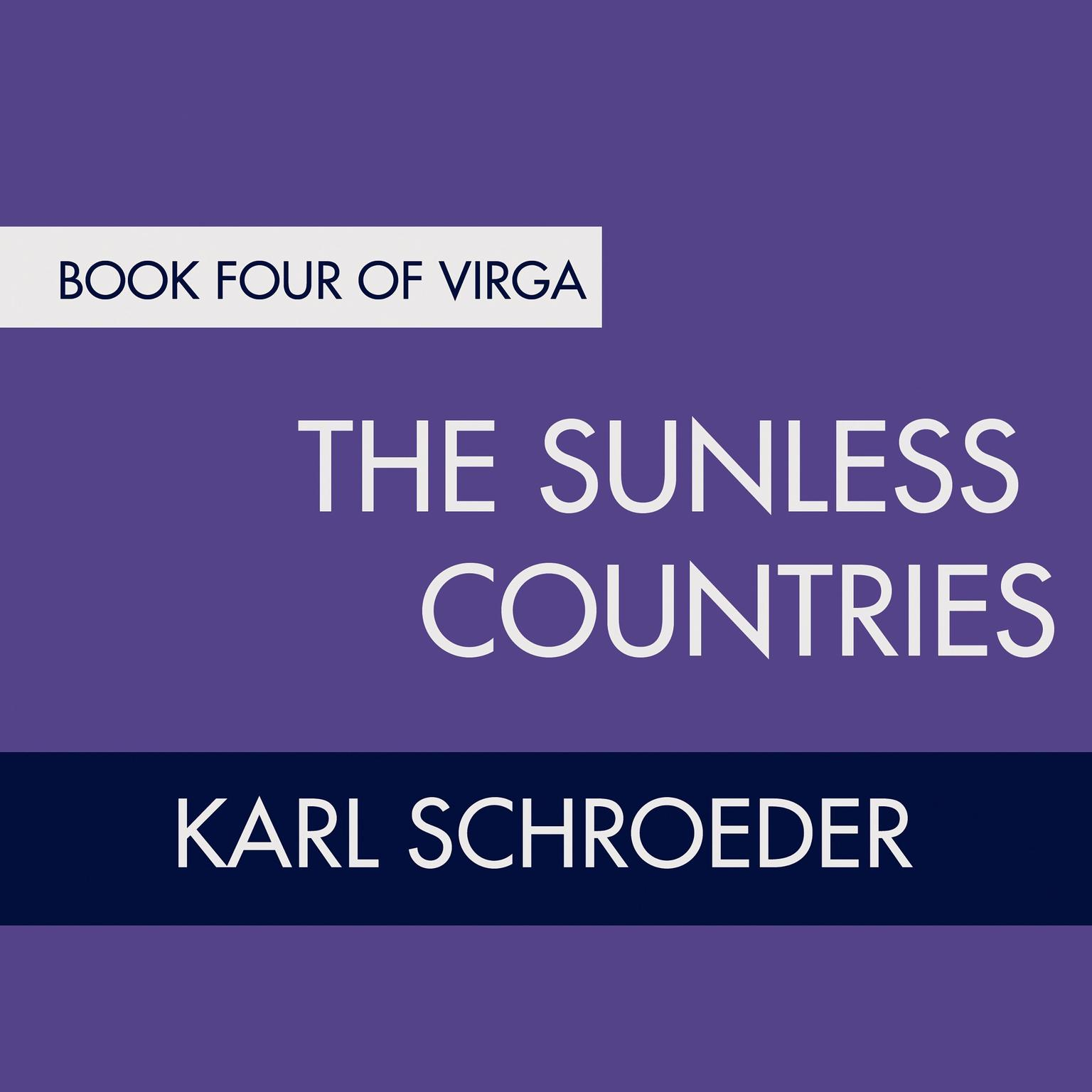 Printable The Sunless Countries: Book Four of Virga Audiobook Cover Art
