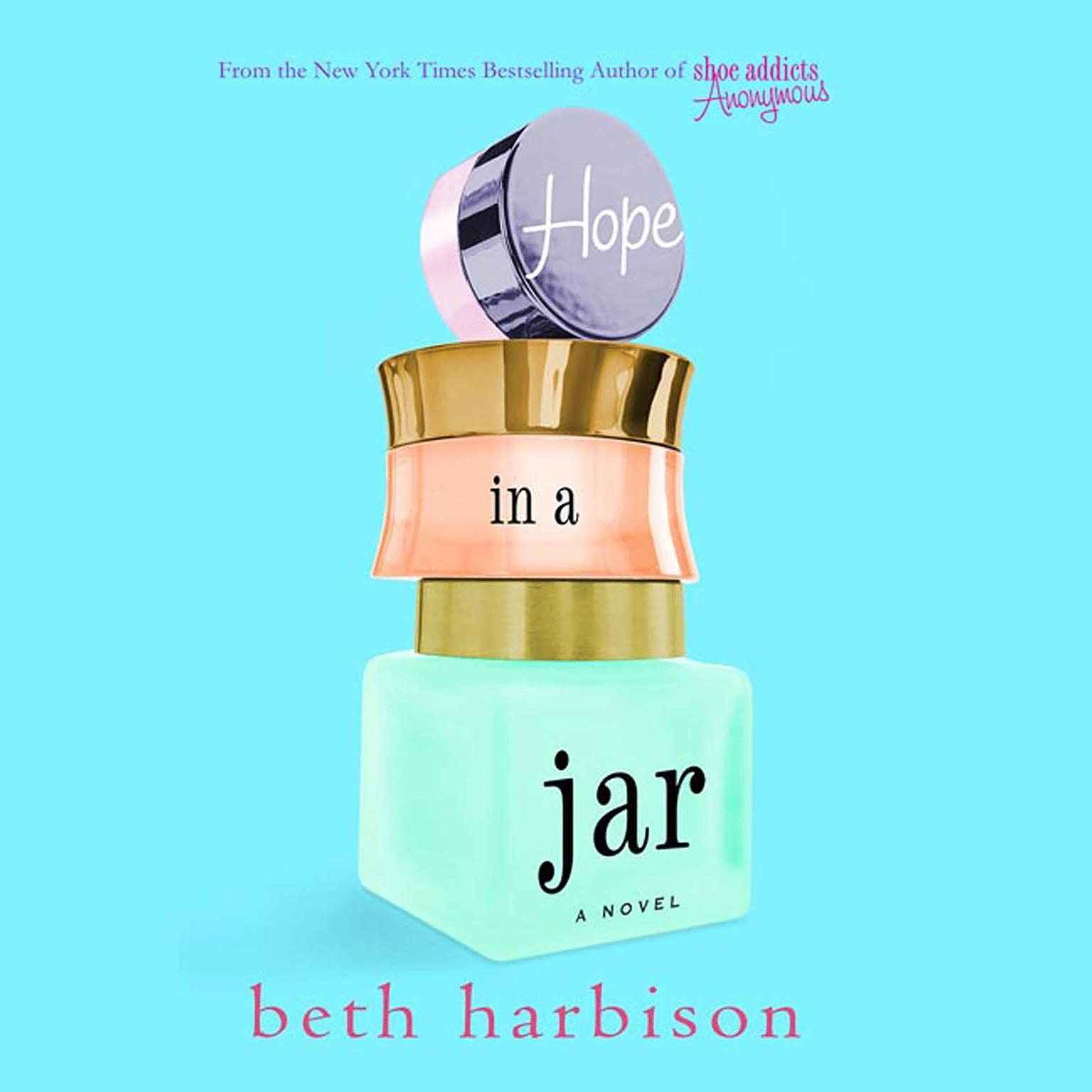 Printable Hope in a Jar: A Novel Audiobook Cover Art