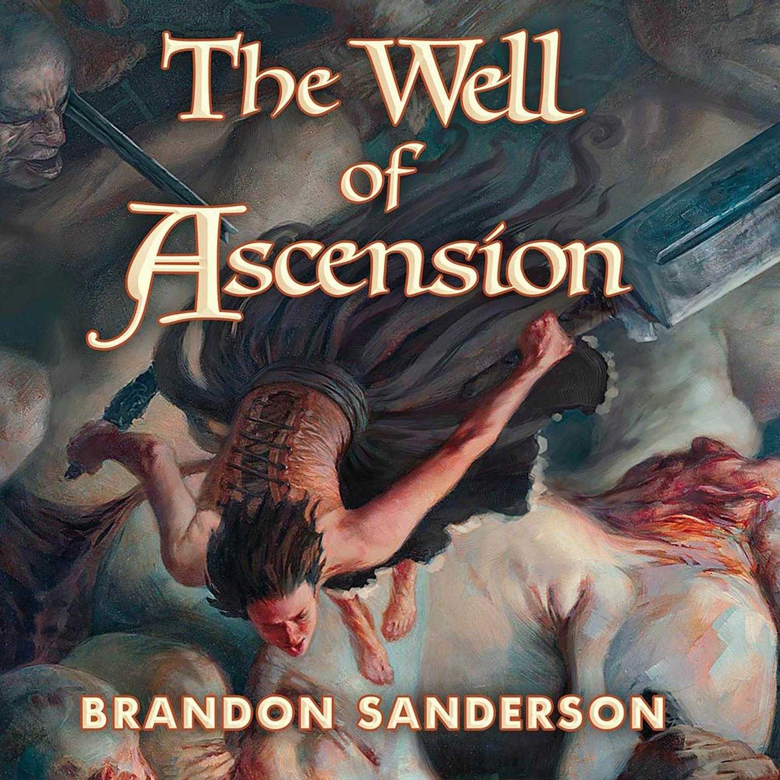 Printable The Well of Ascension: Book Two of Mistborn Audiobook Cover Art