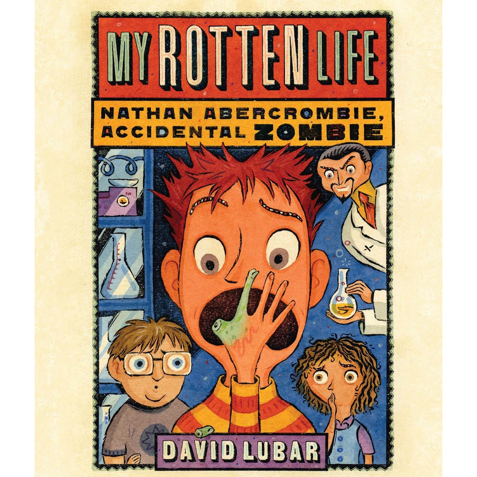 Printable My Rotten Life Audiobook Cover Art