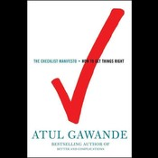 The Checklist Manifesto Audiobook, by Atul Gawande