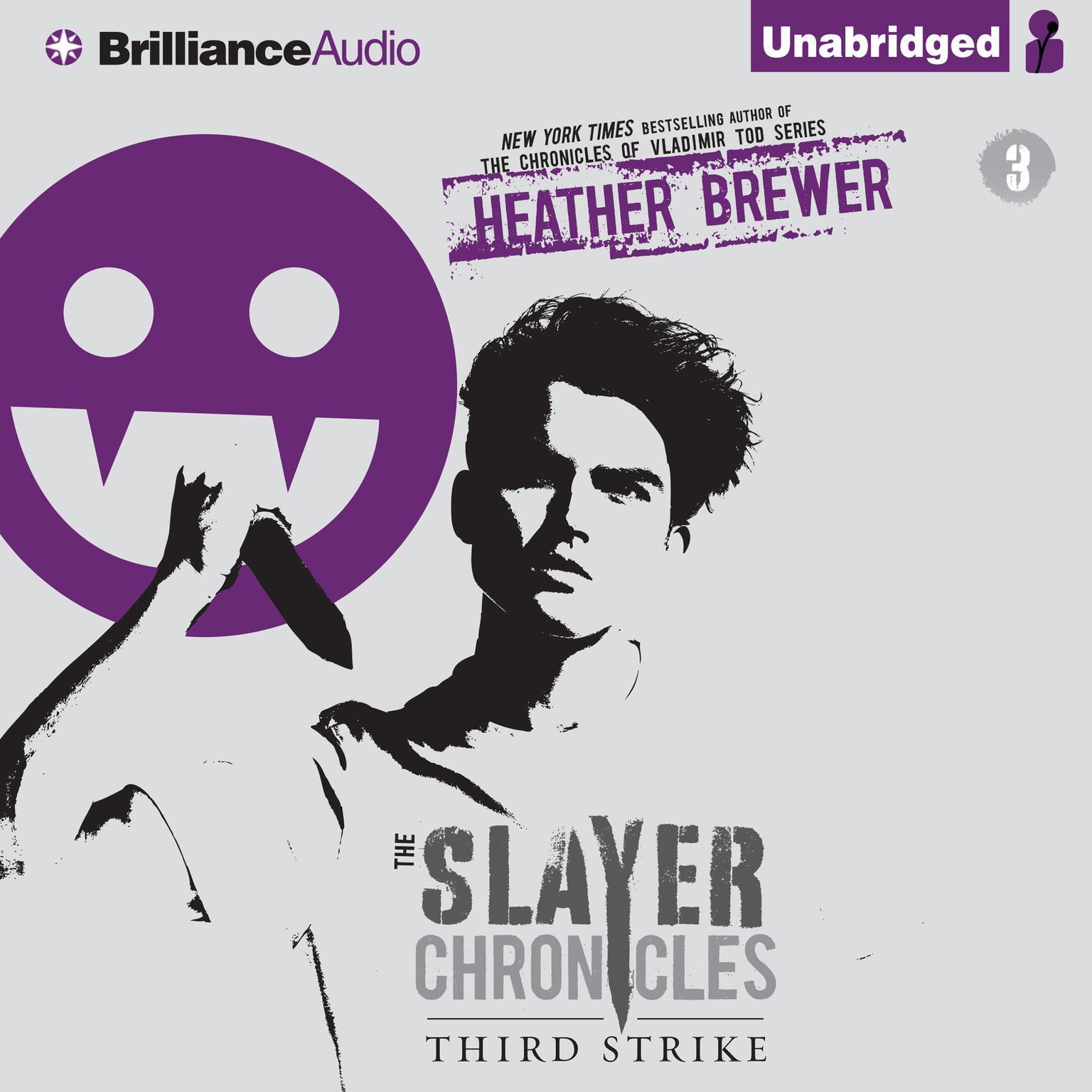 Printable Third Strike Audiobook Cover Art