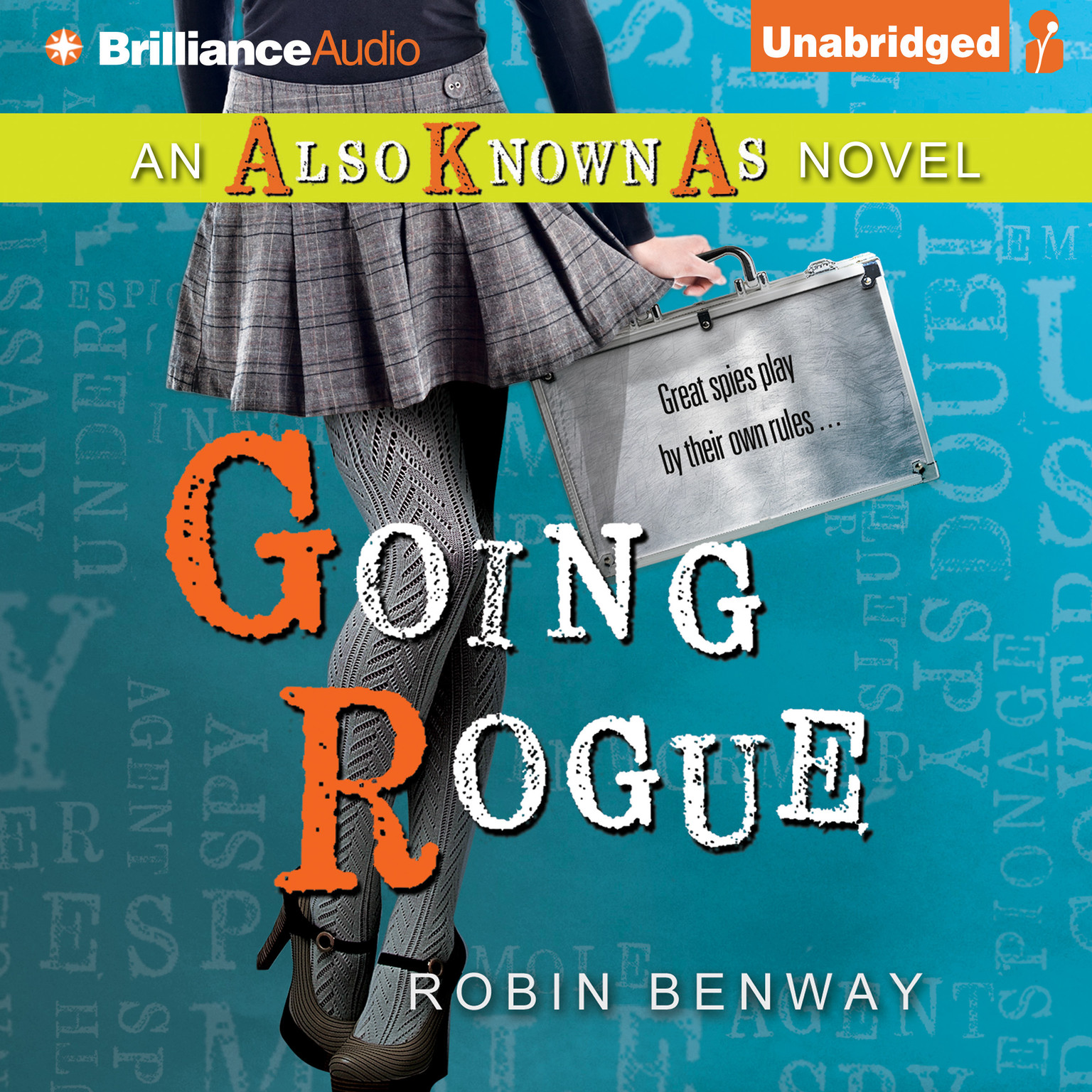 Printable Going Rogue Audiobook Cover Art