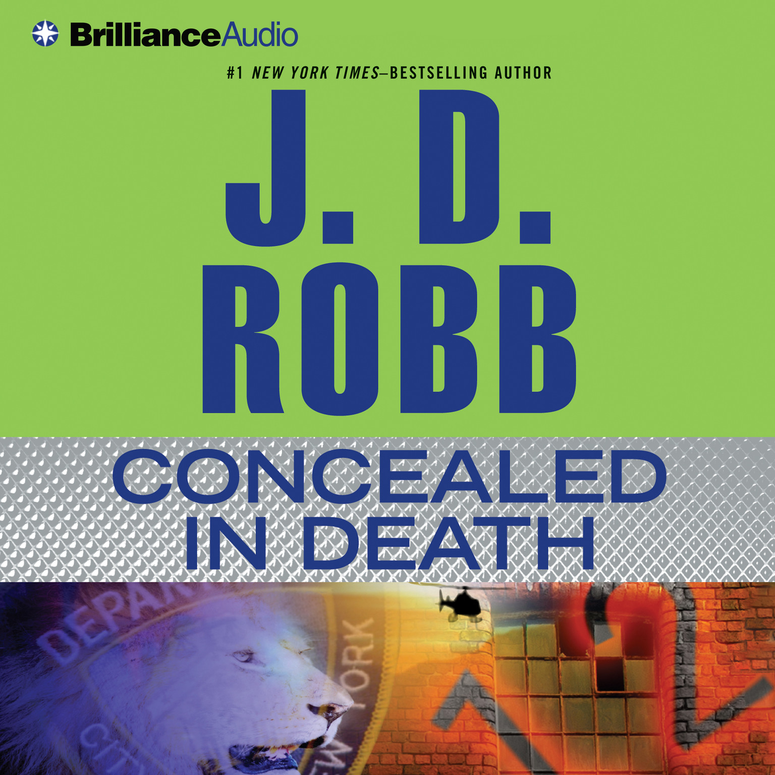 Printable Concealed in Death Audiobook Cover Art