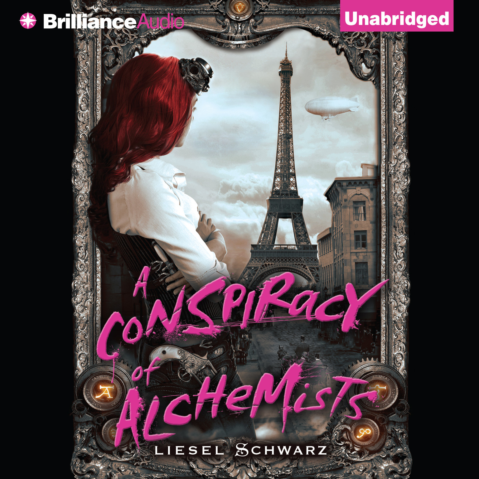 Printable A Conspiracy of Alchemists Audiobook Cover Art