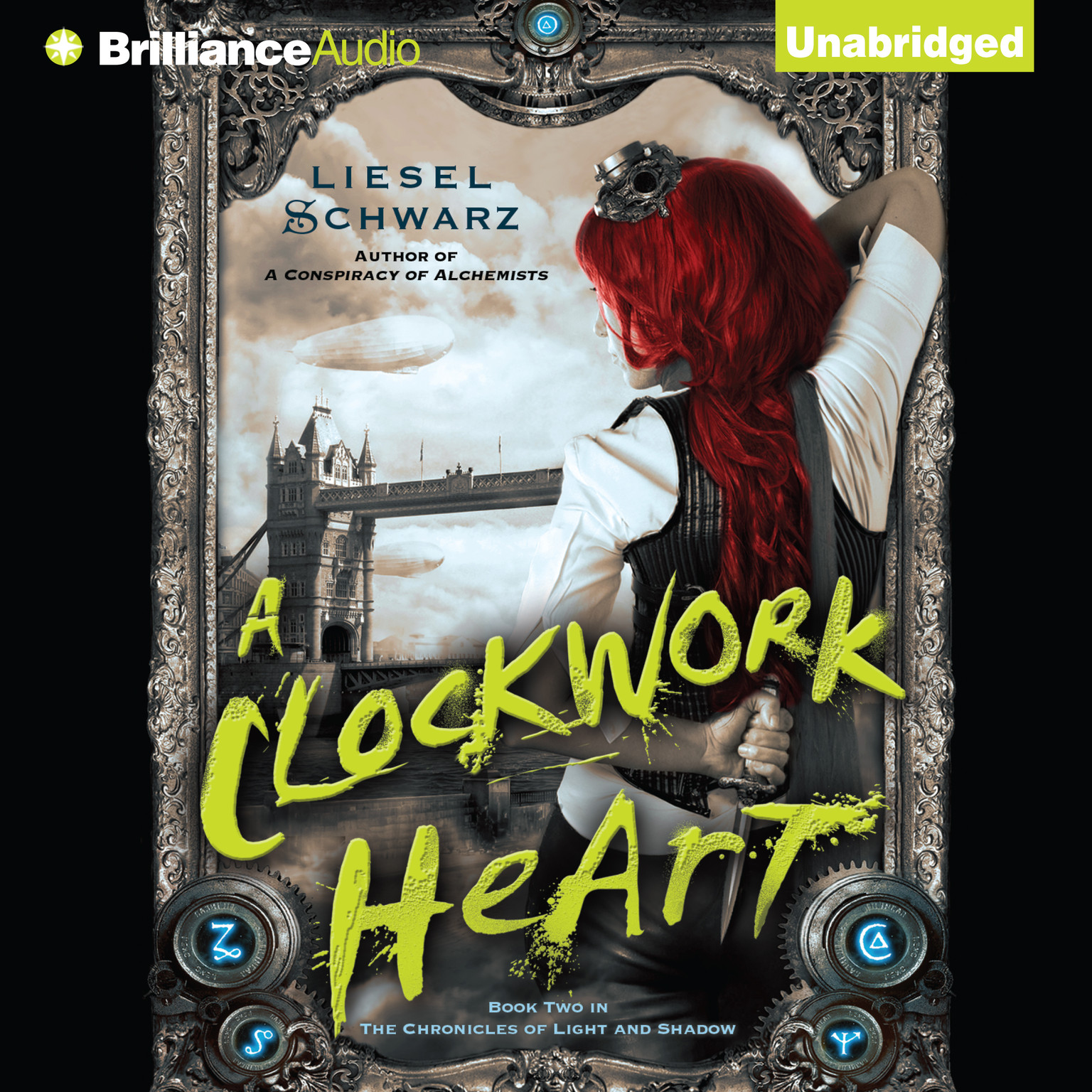 Printable A Clockwork Heart Audiobook Cover Art