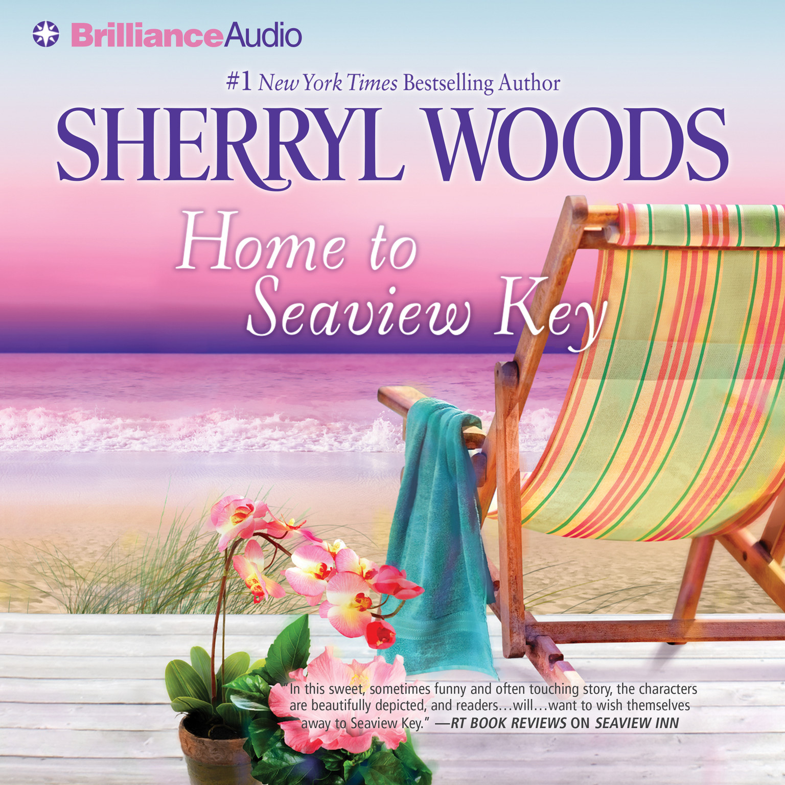 Printable Home to Seaview Key Audiobook Cover Art