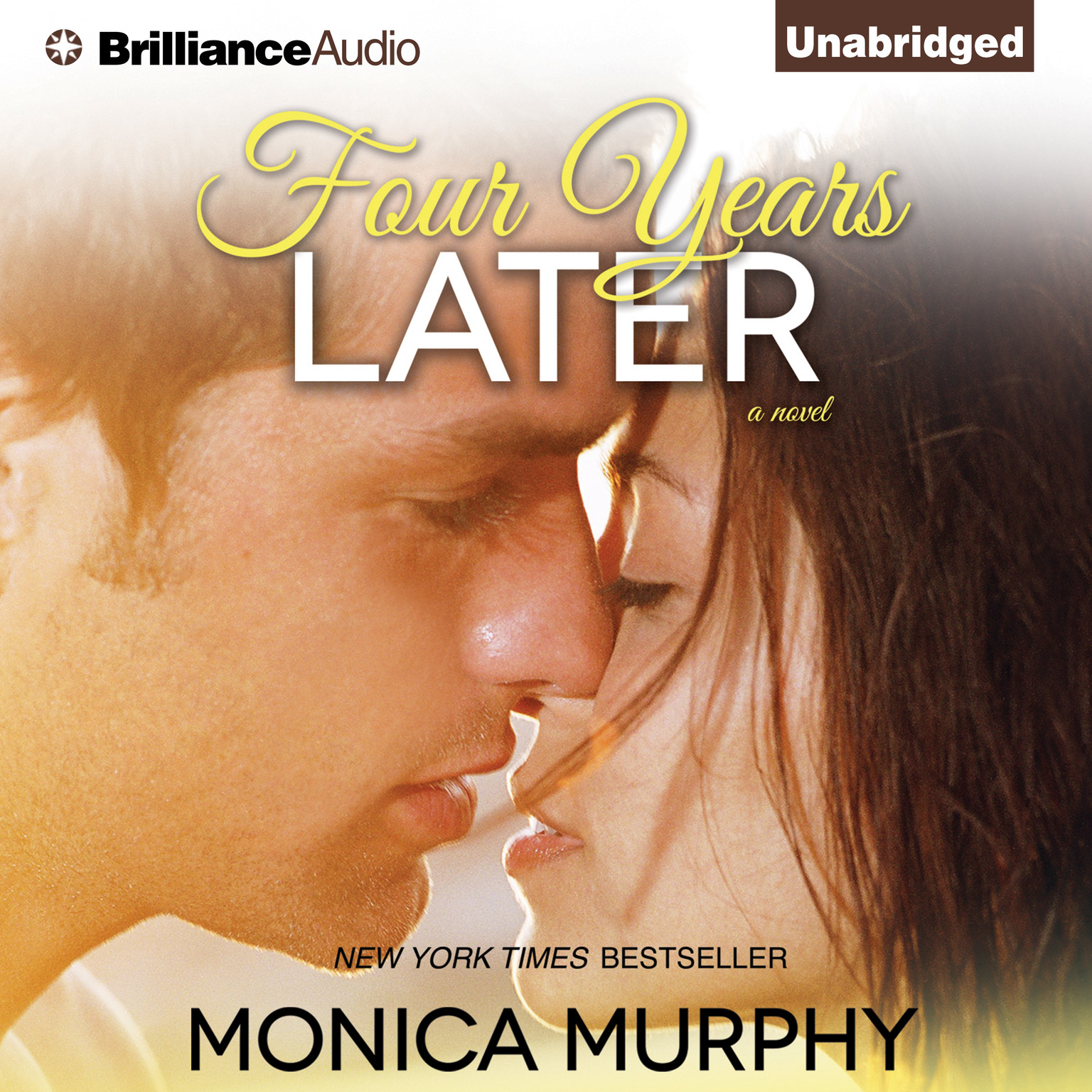 Printable Four Years Later: A Novel Audiobook Cover Art