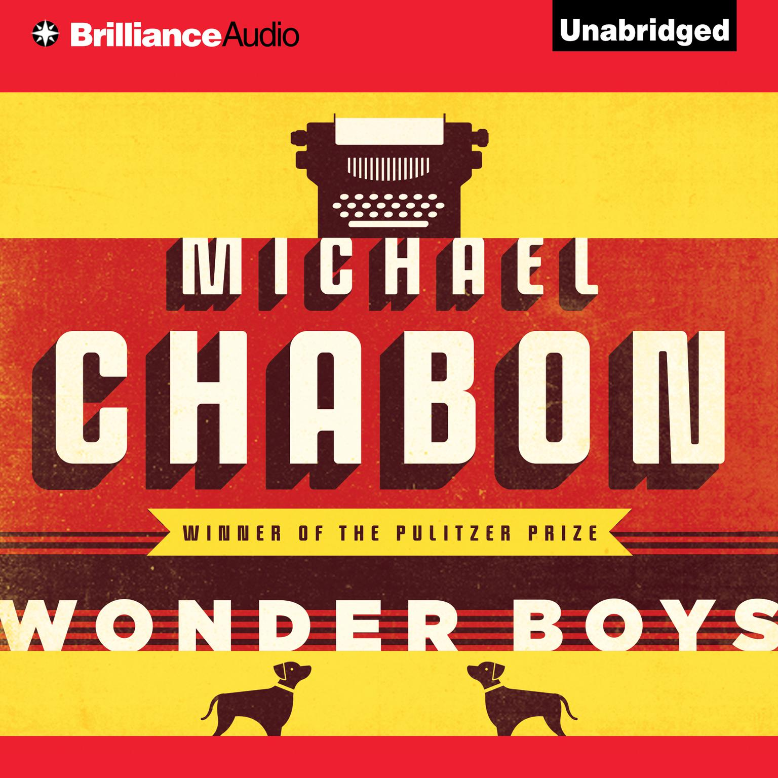 Printable Wonder Boys Audiobook Cover Art