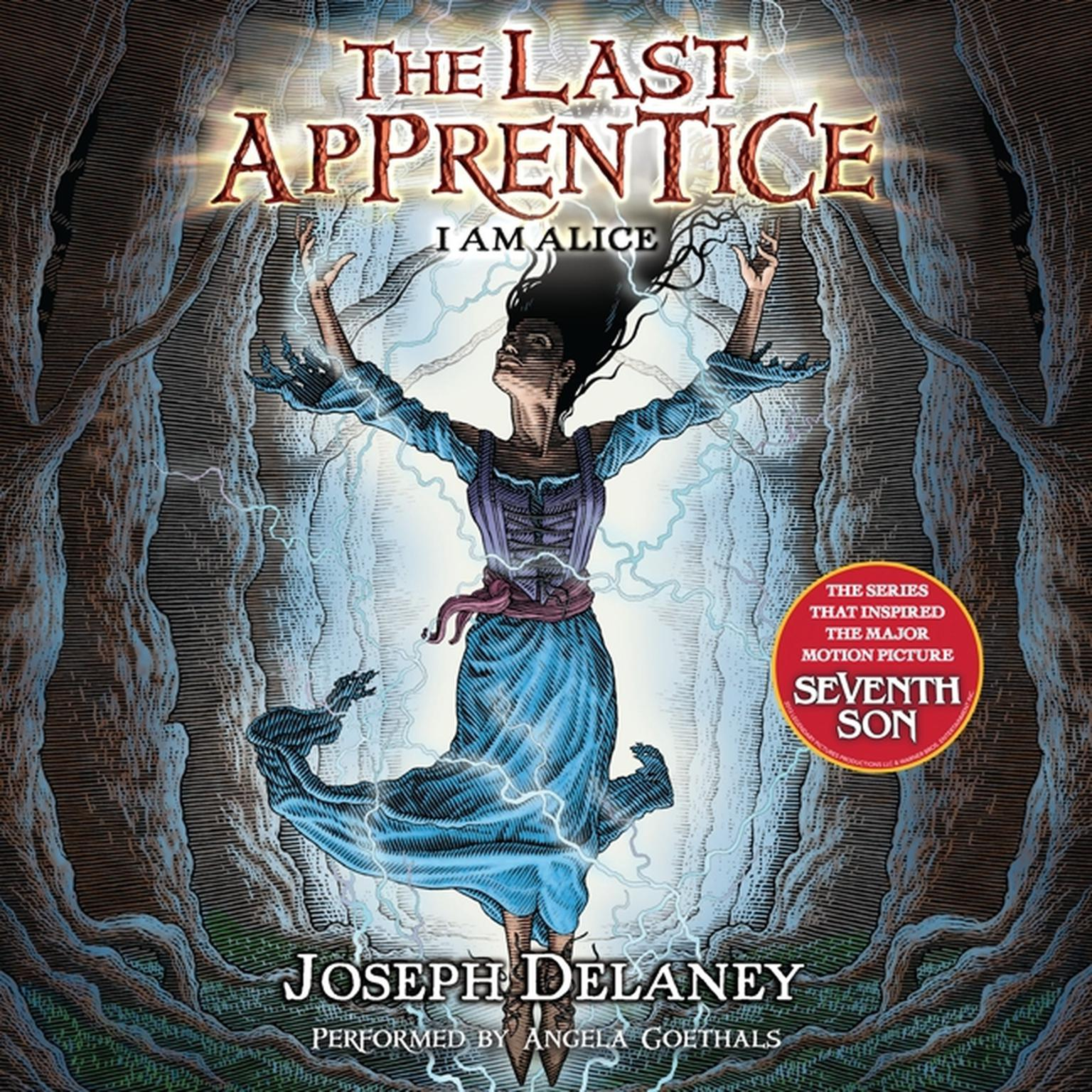 Printable The Last Apprentice: I Am Alice (Book 12) Audiobook Cover Art