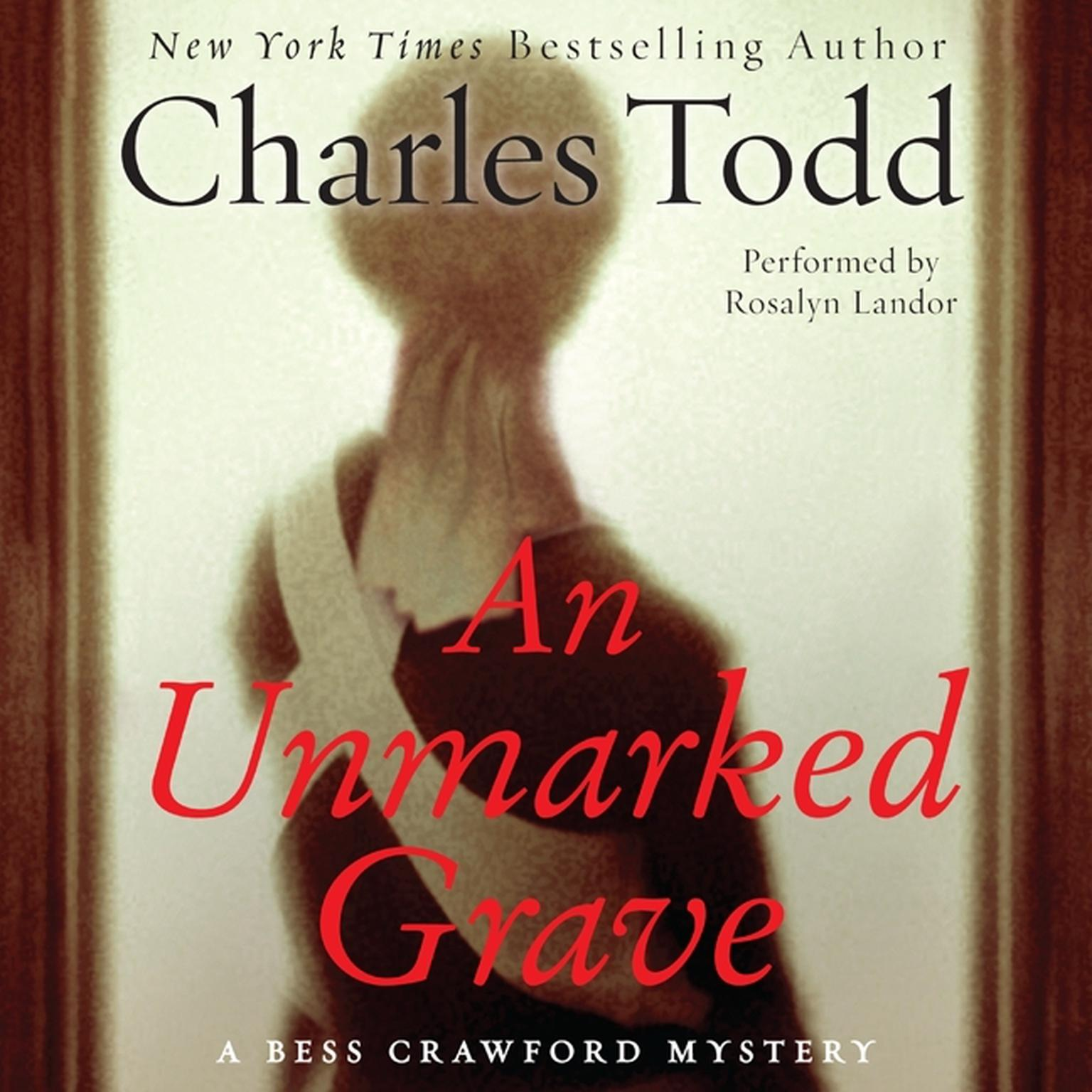Printable An Unmarked Grave Audiobook Cover Art
