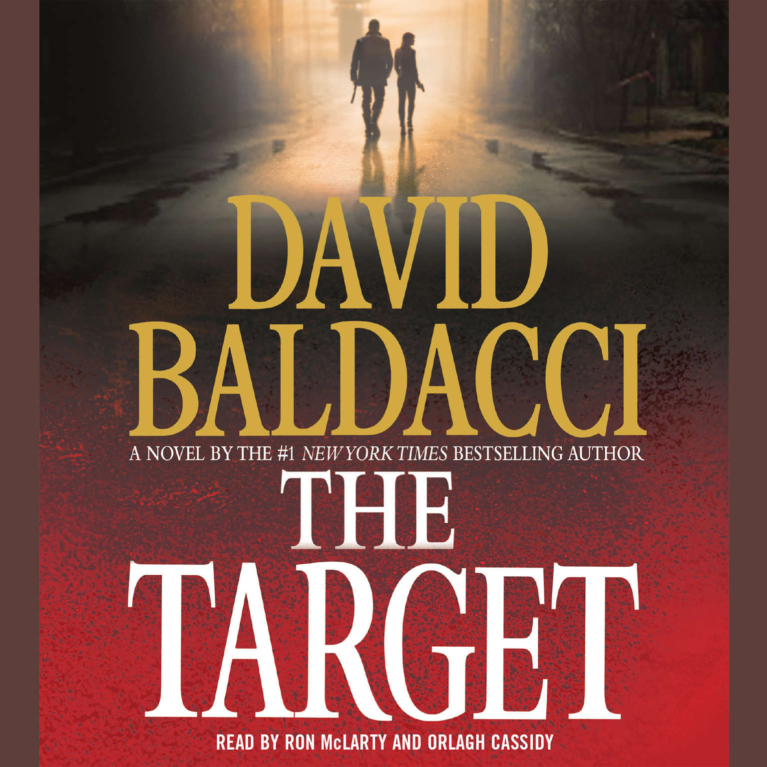 Printable The Target Audiobook Cover Art