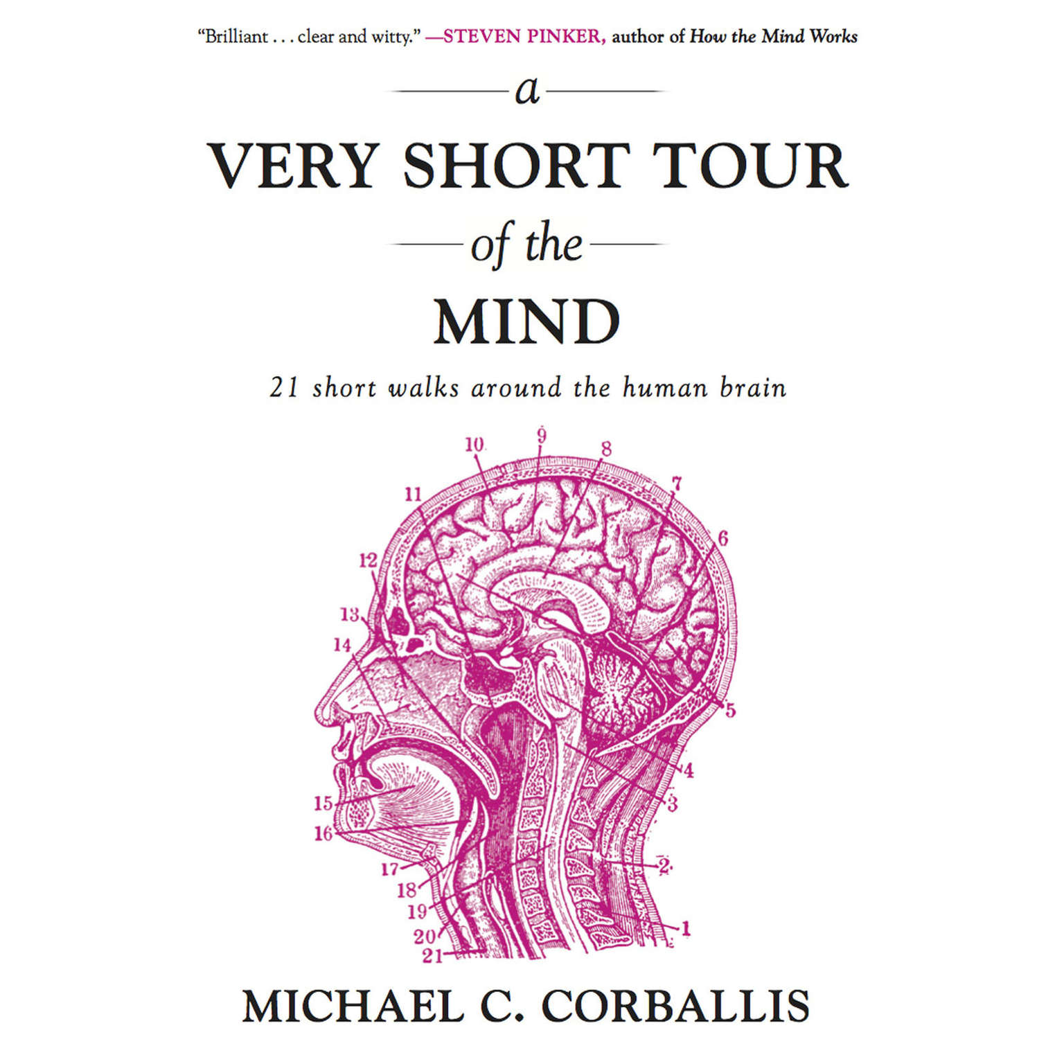 Printable A Very Short Tour of the Mind: 21 Short Walks Around the Human Brain Audiobook Cover Art