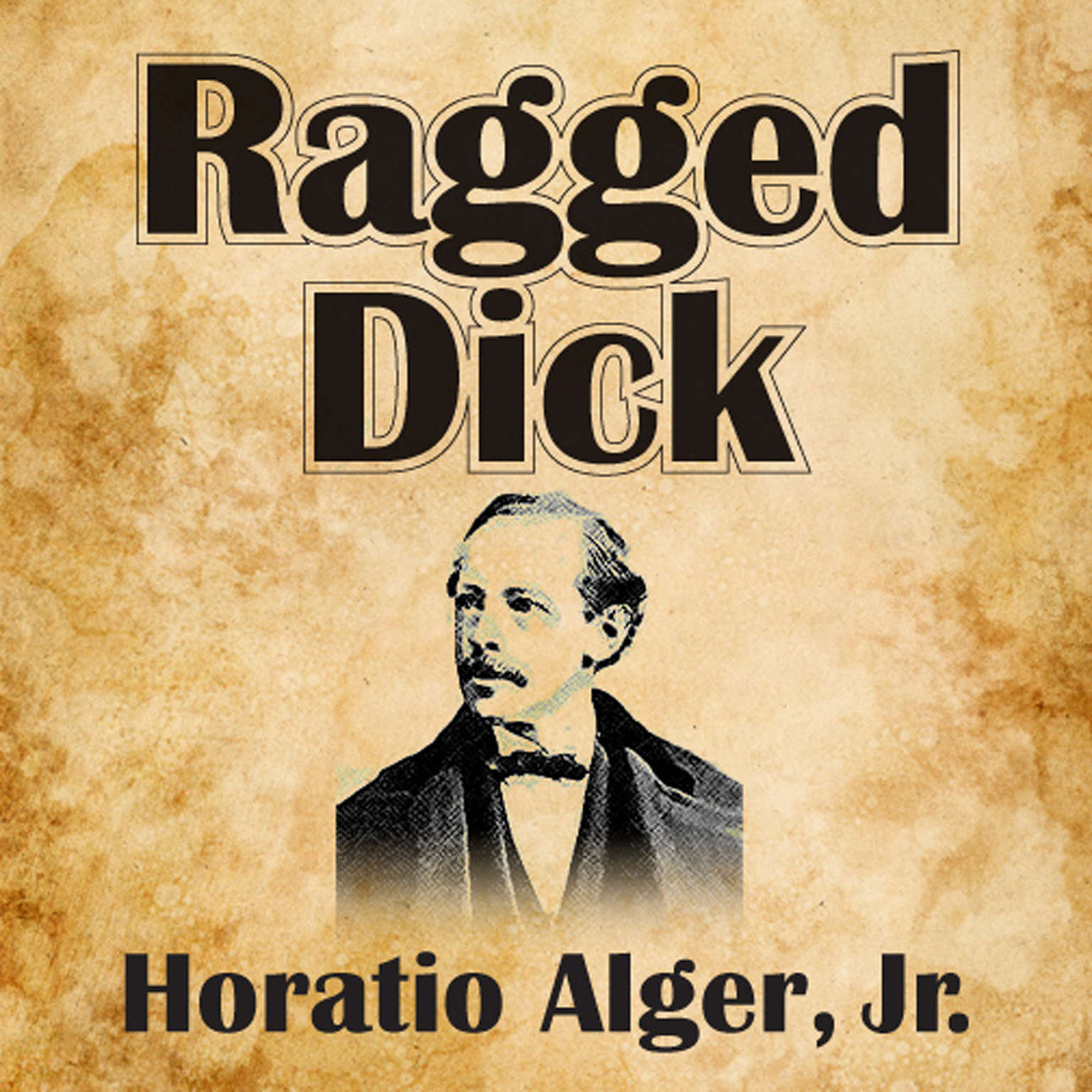 Printable Ragged Dick Audiobook Cover Art
